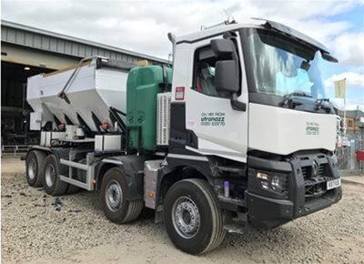 1 off Ex-hire HYDROMIX X21/UTZ 9m3 Volumetric Concrete Mixer (2017)