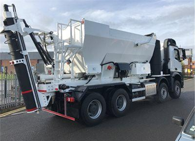 1 off New Hydromix HM12H-E Volumetric Mobile Concrete Mixer (2019)