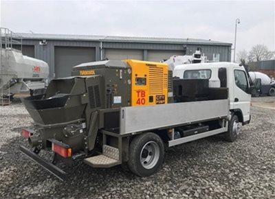 2 off New HYDROPUMP / TURBOSOL model TB40 City Pump Concrete Line Pumps (2019)