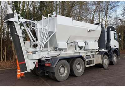 1 off Used HYDROMIX / HM12H-E Volumetric Concrete Mixer (2016)