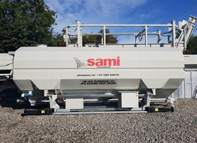 1 off New HYDROMIX / SAMI Eurosilo SPF32/T-B Low-Level Transportable Silo (2019)