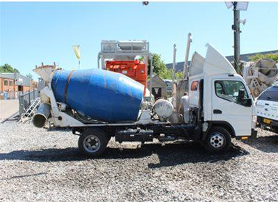 1 off Used 2m3 Concrete Mixer