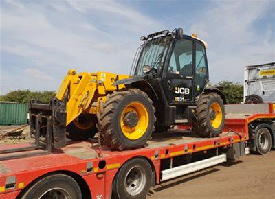 1 off Used JCB model 531-70 Telehandler (2014)