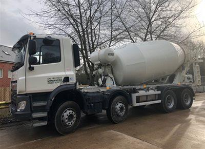 1 off Used DAF / HYMIX P2-8021 8/9m3 Standard Transit Concrete Mixer (2018)