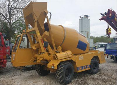 1 off Ex-hire HYDROMIX / CARMIX model 5.5XL Rough Terrain Concrete Mixer (2019)
