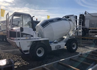 1 off New HYDROMIX / FIORI model DB560T Rough Terrain Tunnel Concrete Mixer (2019)