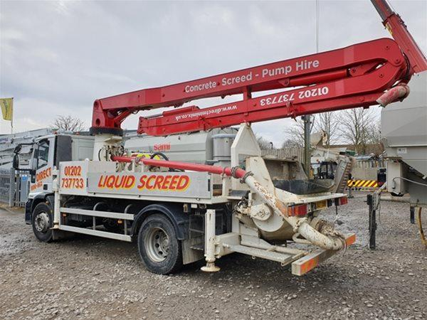 1 off Used IVECO / SERMAC model 3Z22 SCM80 Truck Mounted