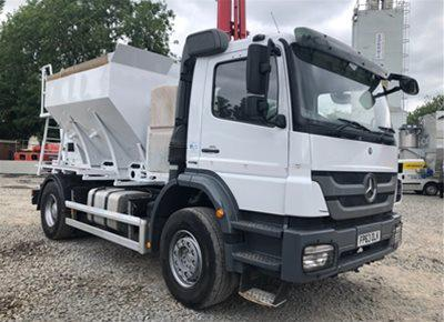 1 off Used MERCEDES / NUROCK 4m3 Volumetric Concrete Mixer (2013)