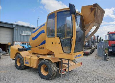 1 off Used D'AVINO model R40 REVOLUTION Rough Terrain Concrete Mixer (2012)