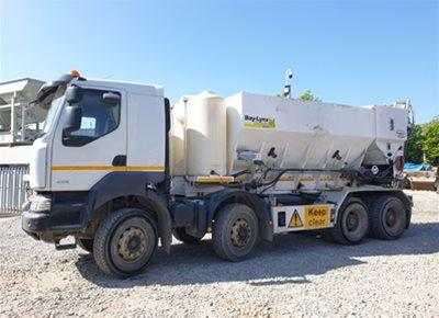1 off Used RENAULT / BAYLYNX model BL-10M60 Volumetric Concrete Mixer (2013)