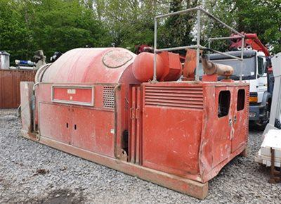 1 off Used HYMIX 6m3 Concrete Remixer / Agitator (2005)