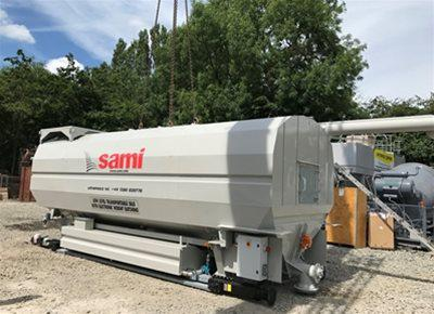1 off New HYDROMIX / SAMI SPF32/DE-B Horizontal Silo (Year 2019)